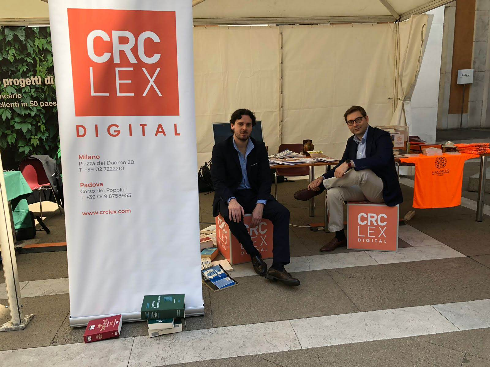 CRC Lex all'Innovation Hall 2018, TEDxPadova